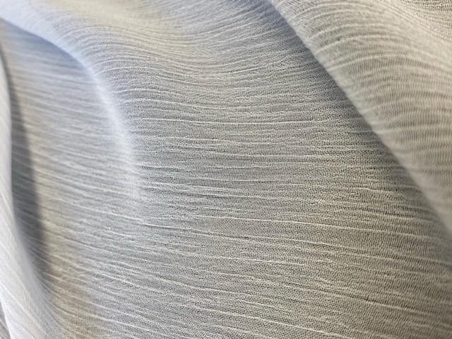 Crepon polyester recyclé