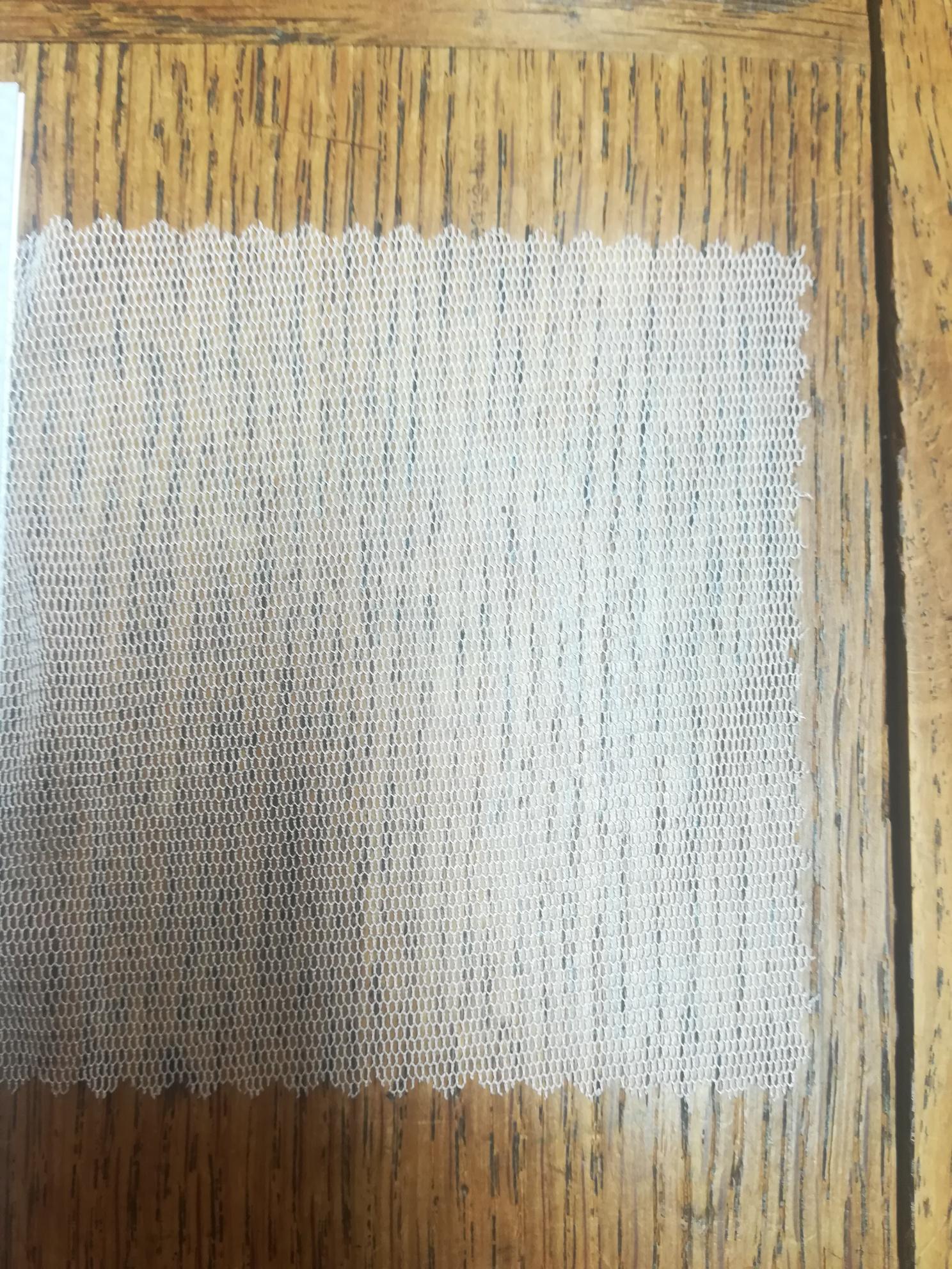 Tulle de soie naturelle