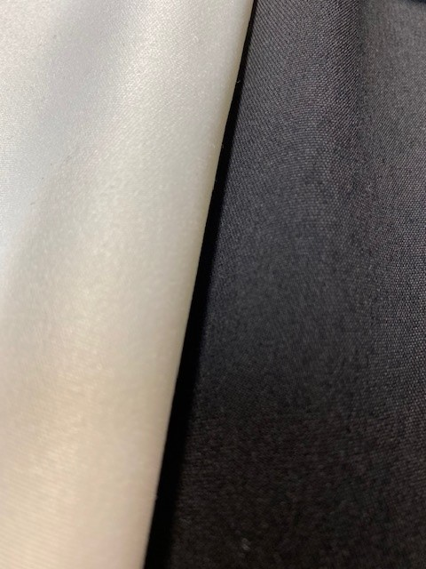 Satin aspect coton - fabrication française